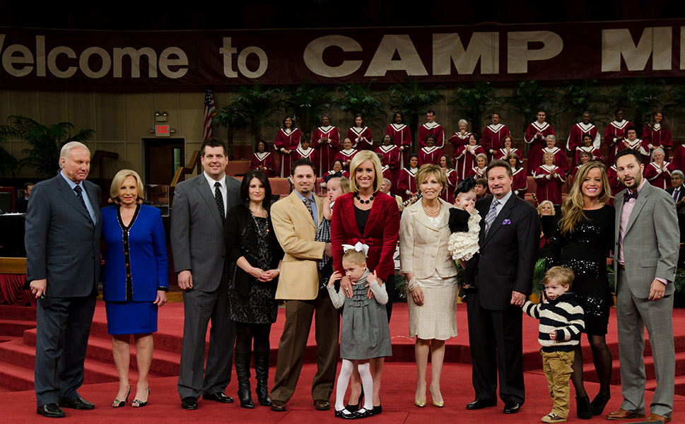 The Swaggart Family at the Family Worship Center, Baton Rouge