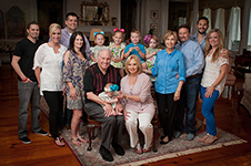 The Swaggart Family at home, Baton Rouge
