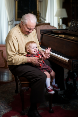 Jimmy Swaggart with Grandson Ryder
