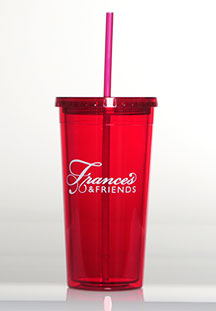 Frances & Friends Red Insulated Tumbler