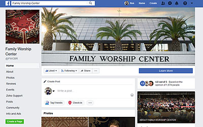 FWC Facebook page